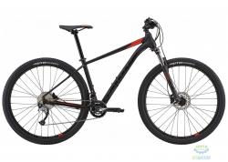 Велосипед 29 Cannondale TRAIL 6 рама - M 2018 BLK черный матовый