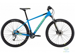 Велосипед 29 Cannondale TRAIL 6 рама - M 2018 SPB синий с салатовым