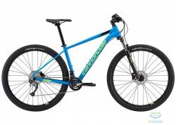 Велосипед 29 Cannondale TRAIL 6 рама - X 2018 SPB синий с салатовым