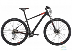Велосипед 29 Cannondale TRAIL 6 рама - XXL 2018 BLK черный матовый