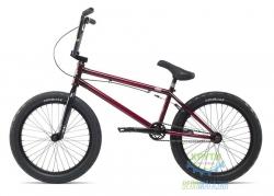 Велосипед BMX 20 Stolen SINNER FC LHD рама - 21 trans black/red (тёмно-красный с черным) 2018