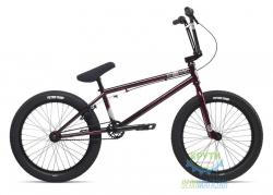 Велосипед BMX 20 Stolen STEREO 1 рама - 20.75 redrum! (вишнёвый) 2018