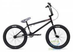 Велосипед BMX 20 Stolen CASINO 1 рама - 20.25 back in black (черный) 2018