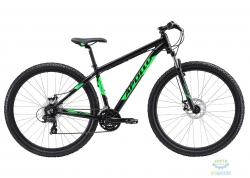 Велосипед 29 Apollo XPERT 10 рама - XL matte black/matte fluoro green/matte grey