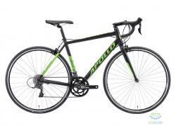 Велосипед 28 Apollo GIRO 10 рама - S matte black/matte green