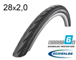 Покрышка 28x2.00 (50-622) Schwalbe MARATHON GT DualGuard Performance B/B+RT HS480 EC 67EPI 35B