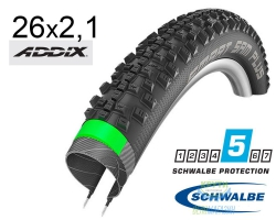 Покрышка 26x2.10 (54-559) Schwalbe SMART SAM PLUS G-Guard SnakeSkin Performance B/B-SK HS476 Addix, 67EPI