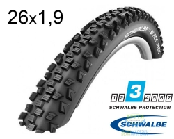 Покрышка 26x1.90 (47-559) Schwalbe BLACK JACK HS407 KevlarGuard B/B-SK SBC 50EPI