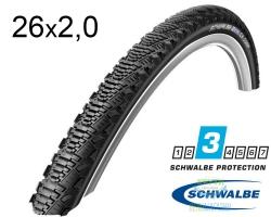 Покрышка 26x2.00 (50-559) Schwalbe CX COMP K-Guard Active B/B-SK HS369 SBC, 50EPI