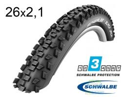 Покрышка 26x2.10 (54-559) Schwalbe BLACK JACK HS407 KevlarGuard B/B-SK SBC 50EPI
