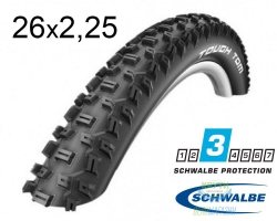 Покрышка 26x2.25 (57-559) Schwalbe TOUGH TOM K-Guard Active B/B-SK HS411 SBC 50EPI
