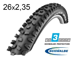 Покрышка 26x2.35 (60-559) Schwalbe SPACE K-Guard Active B/B HS326 SBC 50EPI