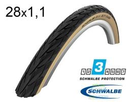 Покрышка 28x1.10 (28x622) Schwalbe DELTA CRUISER K-Guard HS431 B/G SBC