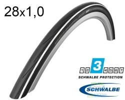 Покрышка 700x25C (25-622) Schwalbe LUGANO K-Guard Active Folding B/WS/B-SK HS471 SiC, 50EPI EK