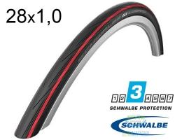 Покрышка 700x25C (25-622) Schwalbe LUGANO K-Guard Active Folding B/RS/B-SK HS471 SiC, 50EPI EK