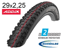 Покрышка 29x2.25 (57-622) Schwalbe RACING RALPH Evo, LiteSkin, Evolutoin Folding B/B-SK HS425 Addix Speed 127EPI EK