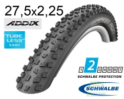 Покрышка 27.5x2.25 650B (57-584) Schwalbe ROCKET RON Performance,TL-Ready, Folding B/B HS438 Addix 67EPI EK