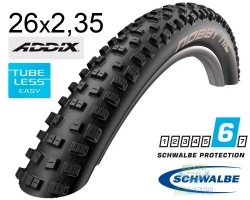 Покрышка 26x2.35 (60-559) Schwalbe NOBBY NIC Performance TL-Ready Folding B/B HS463 Addix, 67EPI EK