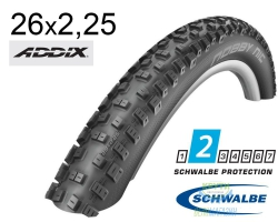 Покрышка 26x2.25 (57-559) Schwalbe NOBBY NIC Performance B/B-SK HS463 Addix 67EPI