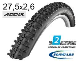 Покрышка 27.5x2.60 650B (65-584) Schwalbe SMART SAM Performance B/B-SK HS476 Addix 67EPI