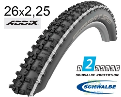 Покрышка 26x2.25 (57-559) Schwalbe SMART SAM Performance B/WS/B-SK HS476 Addix, 67EPI