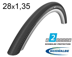 Покрышка 28x1.35 700x35C (35-622) Schwalbe G-ONE Allround R-Guard Performance Folding B/B-SK HS473 DC, 67EPI EK