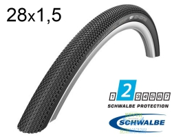 Покрышка 28x1.50 (40-622) 700x38C Schwalbe G-ONE Allround RaceGuard, Performance Folding B/B-SK HS473 DC 67EPI EK