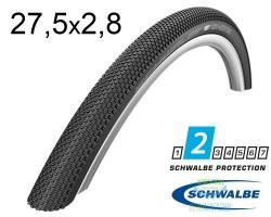 Покрышка 27.5x2.80 650B (70-584) Schwalbe G-ONE Allround RaceGuard, SnakeSkin, Performance Folding B/B-SK HS473 DC 67EPI EK