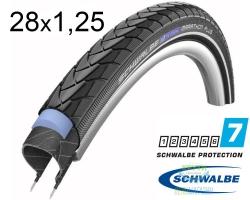 Покрышка 28x1.25 (32-622) 700x32C Schwalbe MARATHON PLUS SmartGuard Performance B/B+RT HS440 EC 67EPI