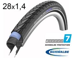 Покрышка 28x1.40 (37-622) 700x35C Schwalbe MARATHON PLUS SmartGuard Performance B/B+RT HS440 EC 67EPI 26B