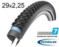 Покрышка 29x2.25 (57-622) Schwalbe MARATHON PLUS MTB SmartGuard Performance B/B+RT HS468 DC 67EPI 38B