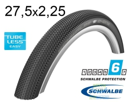 Покрышка 27.5x2.25 650B (57-584) Schwalbe G-ONE Allround SnakeSkin, Folding B/B-SK HS473 OSC