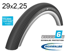 Покрышка 29x2.25 (57-622) Schwalbe G-ONE Allround SnakeSkin TL-Easy Folding B/B-SK HS473 OSC IB