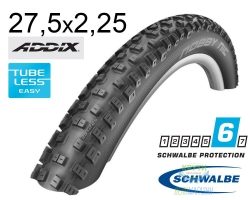 Покрышка 27.5x2.25 650B (57-584) Schwalbe NOBBY NIC Performance TL-Ready Folding B/B HS463 Addix, 67EPI EK
