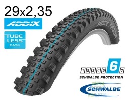 Покрышка 29x2.35 (60-622) Schwalbe ROCK RAZOR SnakeSkin, TL-Easy, Evolutoin Folding B/B-SK HS452 Addix Spgrip 67EPI EK