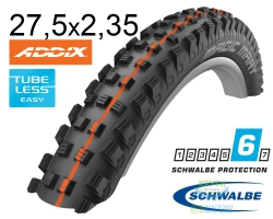 Покрышка 27.5x2.35 650B (60-584) Schwalbe MAGIC MARY SuperG, TL-Easy, Evolutoin Folding B/B-SK HS447 Addix Soft 67EPI EK