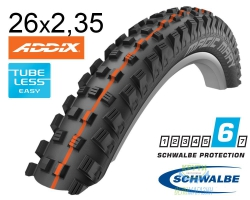 Покрышка 26x2.35 (60-559) Schwalbe MAGIC MARY SnakeSkin, TL-Easy, Evolutoin Folding B/B-SK HS447 Addix Soft 67EPI EK