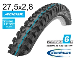 Покрышка 27.5x2.80 650B (70-584) Schwalbe MAGIC MARY SnakeSkin, TLE, Apex, Evolutoin Folding B/B-SK HS447 Addix Spgrip 67EPI EK