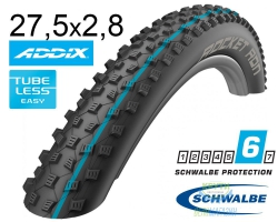 Покрышка 27.5x2.80 650B (70-584) Schwalbe ROCKET RON SnakeSkin, TL-Easy, Evolutoin Folding B/B-SK HS438 Addix Speed 127EPI EK