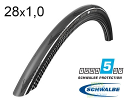Покрышка 700x25C (25-622) Schwalbe ONE V-Guard, Evolutoin Folding B/WS/B-SK HS462A OSC 127EPI EK