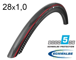 Покрышка 700x25C (25-622) Schwalbe ONE V-Guard, Evolutoin Folding B/RS/B-SK HS462A OSC 127EPI EK
