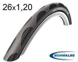 Покрышка 26x1.20 (30-559) Schwalbe AIRBORNE HD Speed Guard, Folding B/B HS408 2grip NMC