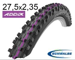 Покрышка 27.5x2.35 650B (60-584) Schwalbe DIRTY DAN Downhill Evolutoin B/B-SK HS417 Addix U-Soft 2x67EPI