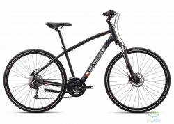 Велосипед Orbea COMFORT 10 18 L Anthracite - Orange 2018
