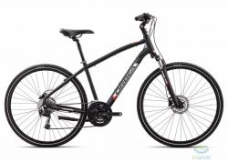 Велосипед Orbea COMFORT 10 18 L Anthracite - Orange 2018