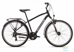 Велосипед Orbea COMFORT 30 PACK 18 L Anthracite - Orange 2018