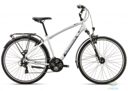 Велосипед Orbea COMFORT 30 PACK 18 L Grey-Black 2018
