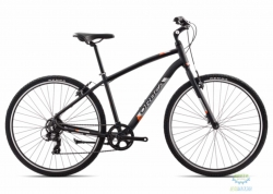 Велосипед Orbea COMFORT 40 18 M Anthracite - Orange 2018