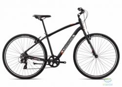 Велосипед Orbea COMFORT 40 18 M Anthracite - Orange 2018