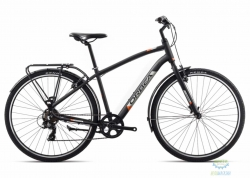 Велосипед Orbea COMFORT 40 PACK 18 M Anthracite - Orange 2018
